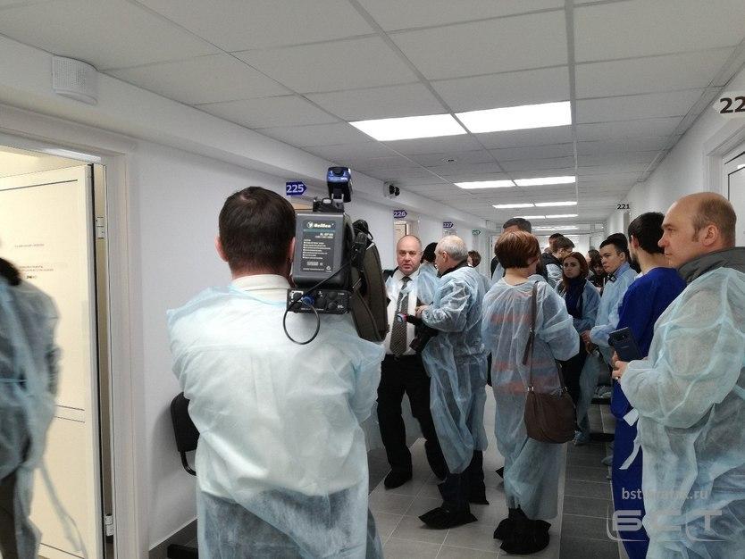 ВБратске открылся филиал диагностического центра