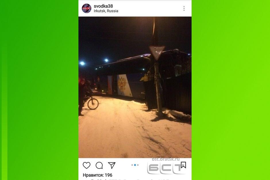 ВБратском районе задержали водителя, сбившего группу молодых людей