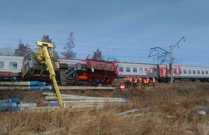 Локомотив опрокинулся наБАМе вИркутской области, задержки поездов нет