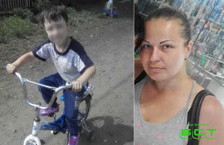ВБратске при загадочных обстоятельствах пропала женщина спятилетним сыном