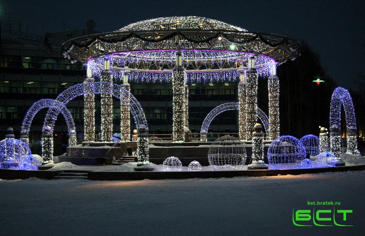 Администрация Братска объявила конкурс налучший проект ледового городка