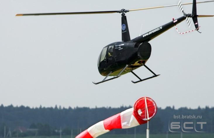 Личный вертолет аварийно сел вИркутской области