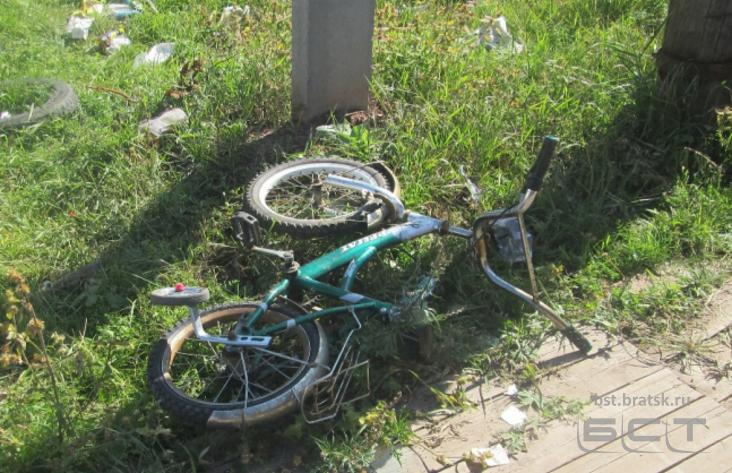 ВБратске девятнадцатилетний автомобилист сбил четырехлетнюю девочку, мужчина исчез